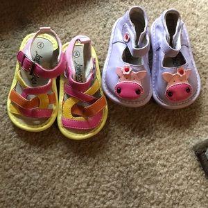 Size 4 babygirl shoes bundle